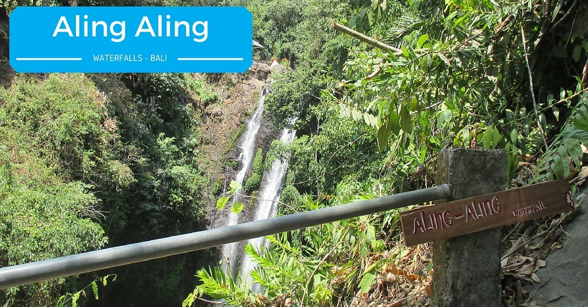 aling aling falls in bali