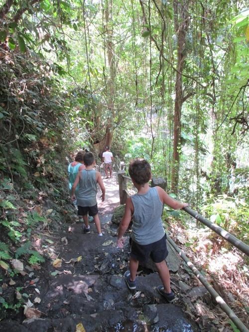 hiking bali