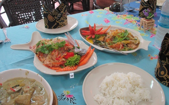 thai food koh samui